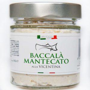 Baccalà à la Vicentina à la crème
