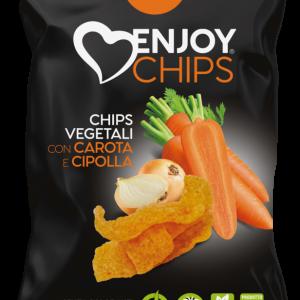 Chips de légumes aux oignons et carottes