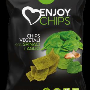 Chips de légumes aux épinards et à l'ail