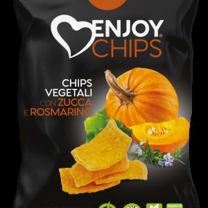 Chips de légumes à la citrouille et au romarin