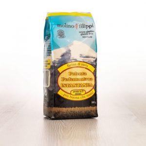 Farine de maïs pour la polenta instantanée