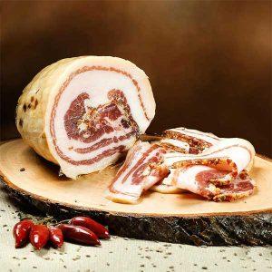 Poitrine de porc roulée