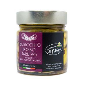 Radicchio rouge tardif de Trévise à l'huile d'olive extra vierge