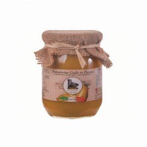 Sauce de tomates jaune