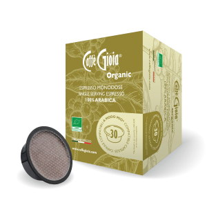 Mélange Arabica 100% biologique capsule compatible A Modo Mio – 30 capsules